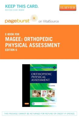 Orthopedic Physical Assessment - Pageburst E-Book on VitalSource (Retail Access Card)