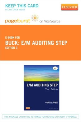 E/M Auditing Step - Pageburst E-Book on VitalSource (Retail Access Card)