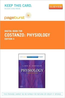 Physiology - Pageburst E-Book on VitalSource (Retail Access Card)