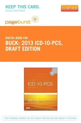 2013 ICD-10-PCS Draft Edition - Pageburst E-Book on VitalSource (Retail Access Card)
