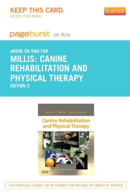 Canine Rehabilitation and Physical Therapy - Pageburst E-Book on Kno (Retail Access Card)