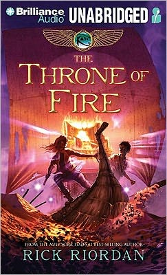 The Throne of Fire (Kane Chronicles Series #2)