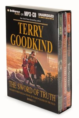 The Sword of Truth Boxed Set I (Books 1-3): Wizard's First Rule/Stone of Tears/Blood of the Fold