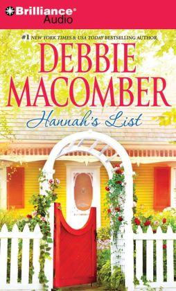 Hannah's List (Blossom Street Series #8)