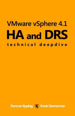 VMware vSphere 4. 1 HA and DRS Technical Deepdive