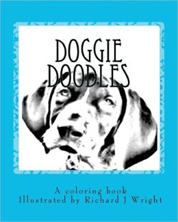 Doggie Doodles: A Picture and Coloring Book of Dog Breeds