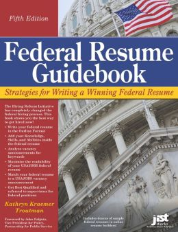 federal resume guidebook by kathryn troutman nook book