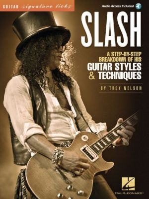 Slash - Guitar Signature Licks (cd/pkg)
