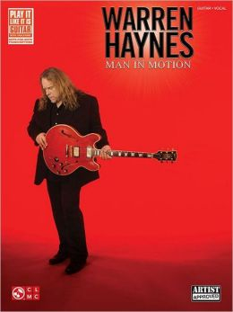Warren Haynes - Man in Motion