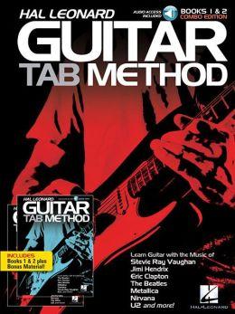Hal Leonard Guitar Tab Method Books 1 & 2 Combo Edition (Book/2-CD Pack)