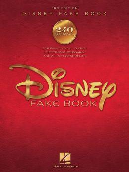 The Disney Fake Book (Songbook)