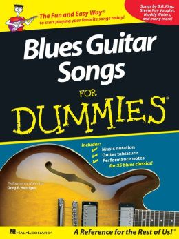 Blues Guitar Songs for Dummies (Music Instruction)