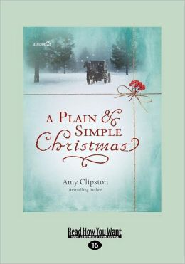 A Plain & Simple Christmas (Large Print 16pt)