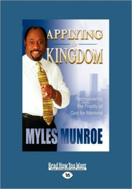 Applying The Kingdom (Easyread Large Edition)