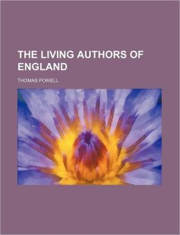 The Living Authors Of England