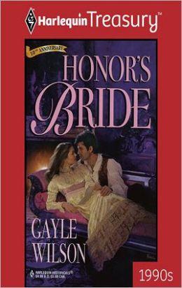 Honor's Bride
