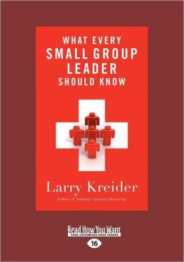 What Every Small Group Leader Should Know (Large Print 16pt)