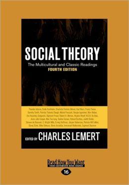 Social Theory (Large Print 16pt)
