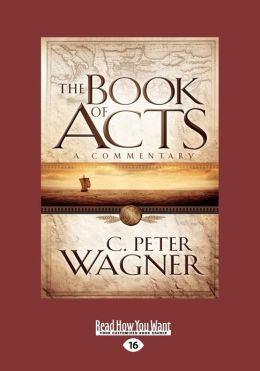 The Book of Acts: A Commentary (Large Print 16pt)