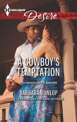 A Cowboy's Temptation (Harlequin Desire Series #2261)