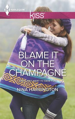 Blame It on the Champagne (Harlequin Kiss Series #36)