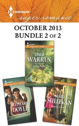 Harlequin Superromance October 2013 - Bundle 2 of 2: A Texas Family\For the First Time\Because of Audrey