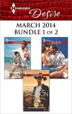 Book Cover Image. Title: Harlequin Desire March 2014 - Bundle 1 of 2:  The Real Thing\Double the Trouble\Suddenly Expecting, Author: Brenda Jackson