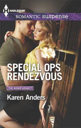 Special Ops Rendezvous (Harlequin Romantic Suspense Series #1804)