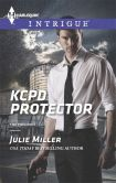 Book Cover Image. Title: KCPD Protector (Harlequin Intrigue Series #1509), Author: Julie Miller