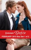 Book Cover Image. Title: Harlequin Desire February 2015 - Box Set 1 of 2:  His Lost and Found Family\Terms of a Texas Marriage\Thirty Days to Win His Wife, Author: Sarah M. Anderson