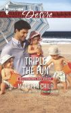 Book Cover Image. Title: Triple the Fun (Harlequin Desire Series #2371), Author: Maureen Child