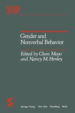 Gender and Nonverbal Behavior