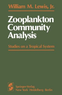 Zooplankton Community Analysis: Studies on a Tropical System