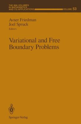 Variational and Free Boundary Problems
