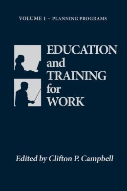 Education and Training for Work