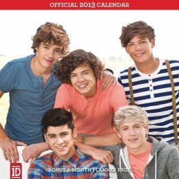 2013 One Direction Mini Wall Calendar