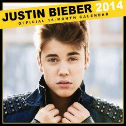 2014 Justin Bieber Mini 7x7 Bravado Calendar