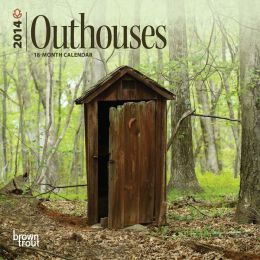 2014 Outhouses Mini 7x7 Calendar