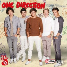 2014 One Direction Mini 7x7 Calendar
