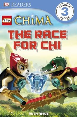 DK Readers: LEGO Legends of Chima: The Race for CHI