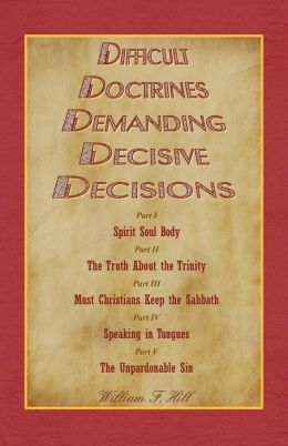 Difficult Doctrines Demanding Decisive Decisions