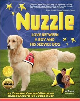 Nuzzle: Love Between a Boy and His Service Dog