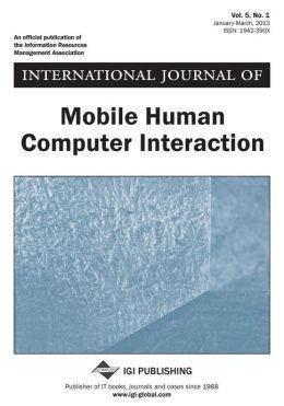 International Journal of Mobile Human Computer Interaction, Vol 5 Iss 1 Lumsden