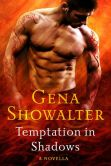 Book Cover Image. Title: Temptation in Shadows, Author: Gena Showalter
