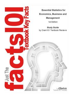 e-Study Guide for: Essential Statistics for Economics, Business and Management by Teresa Bradley, ISBN 9780470850794