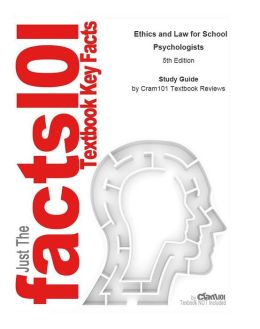 e-Study Guide for: Ethics and Law for School Psychologists by Susan Jacob, ISBN 9780471757702