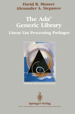 The Ada Generic Library: Linear List Processing Packages