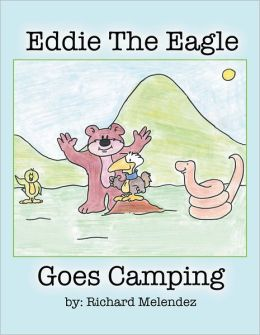 Eddie the Eagle goes camping