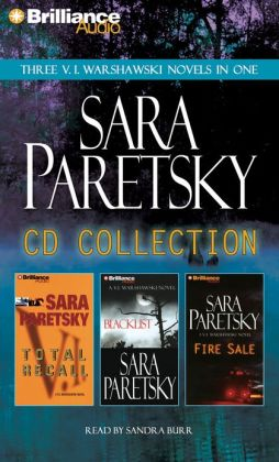 Sara Paretsky CD Collection: Total Recall / Blacklist / Fire Sale