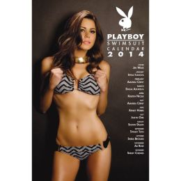2014 Playboy Swimsuit 11X17 Wall Calendar